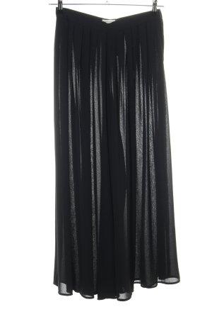 Hermann Lange Falda larga negro look casual