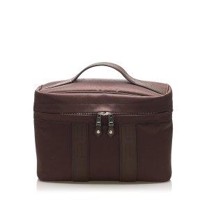 Hermès Cosmeticabox donkerbruin