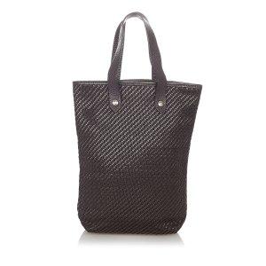 Hermès Sac fourre-tout noir coton