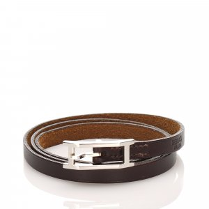 Hermes Api Leather Bracelet