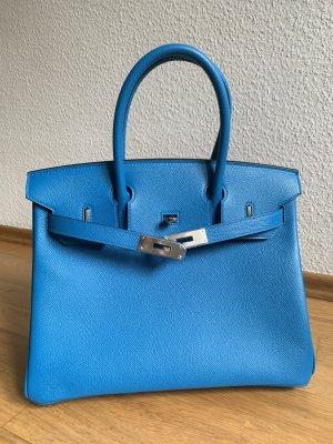 Hermes Birkin 30 Epson Leder Zanzibar Blau  Neu mit Rechnung