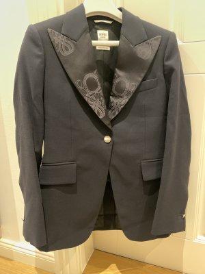Hermès Blazer de esmoquin azul oscuro