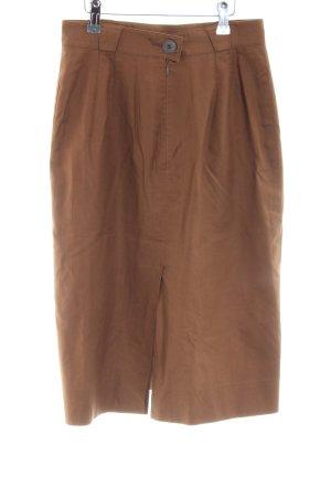 Hermès Pencil Skirt light brown casual look
