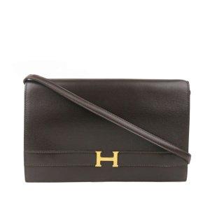 Hermes Box Calf Annie Shoulder Bag