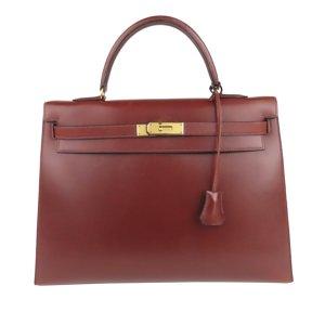 Hermès Satchel bordeaux leather