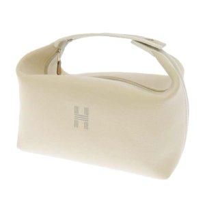 Hermès Sac seau blanc