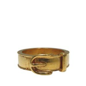 Hermes Buckle Scarf Ring