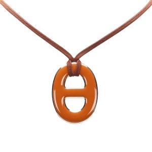 Hermès Necklace orange