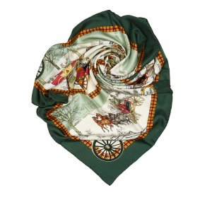 Hermes Bull and Mouth Regents Circus Piccadilly Silk Scarf