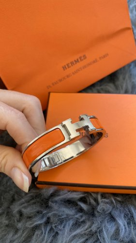 Hermès Bracelet multicolored metal