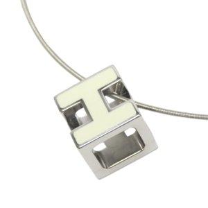 Hermès Collar color plata metal