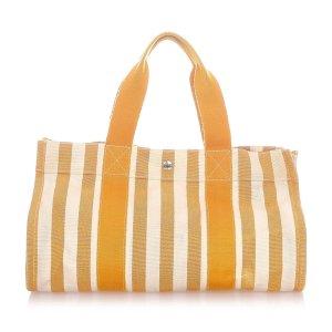 Hermès Tote geel