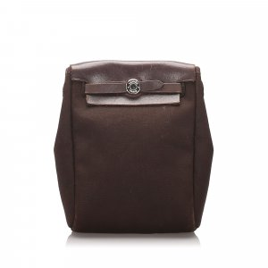 Hermes Canvas Herbag TPM Crossbody Bag