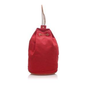 Hermès Plecak czerwony