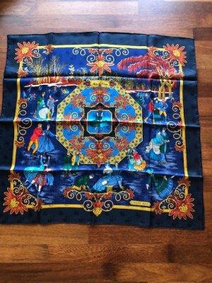 Hermès Kerchief multicolored silk
