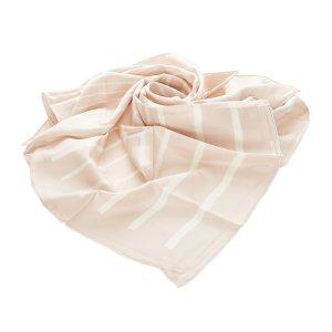 Hermès Bufanda rosa claro