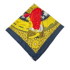 Hermès Scarf yellow silk