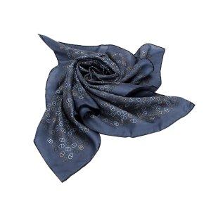 Hermès Bufanda azul Algodón