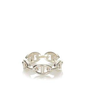 Hermès Pierścionek srebrny Prawdziwe srebro
