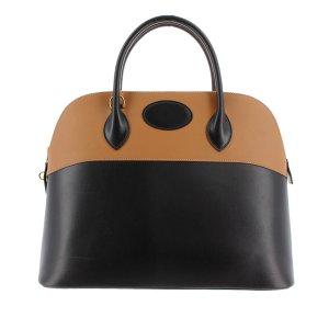 Hermès Tornister czarny Skóra
