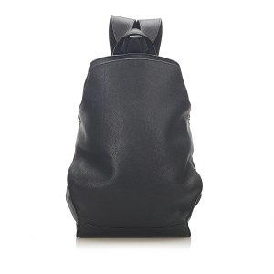 Hermès Backpack black leather