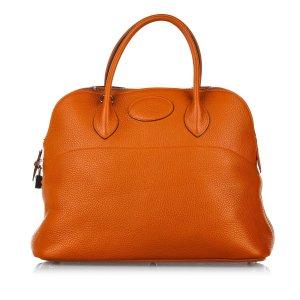 Hermès Satchel brown leather