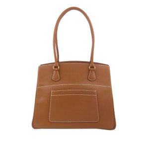Hermès Sac fourre-tout brun cuir