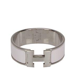 Hermès Armband wit Zilver