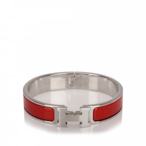 Hermès Bracelet argenté métal