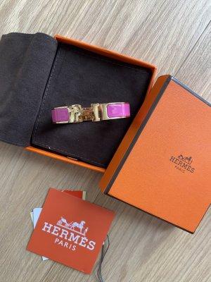 Hermes Clic H pink magenta Armreif