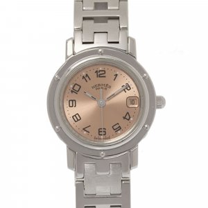 Hermes Clipper Stainless Steel Watch