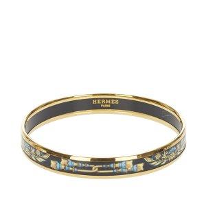 Hermès Bransoletka złoto Metal