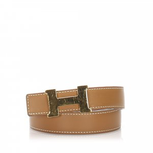 Hermes Constance Leather Belt
