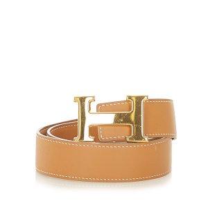 Hermès Belt brown leather