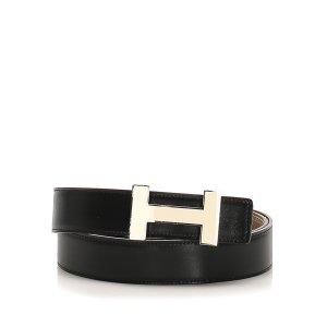 Hermès Belt black leather