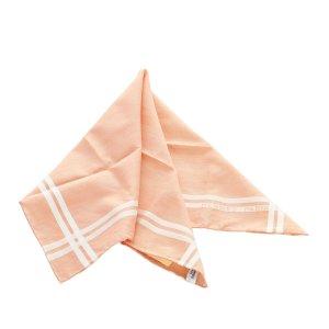 Hermès Bufanda rosa claro Seda
