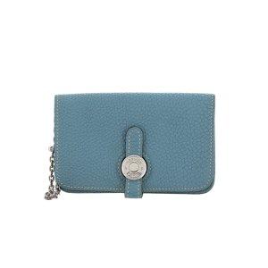 Hermès Wallet blue leather