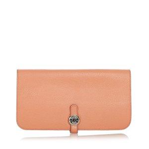Hermes Dogon Leather Long Wallet