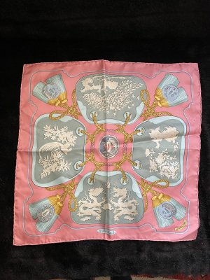 Hermès Pocket Square multicolored