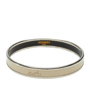Hermès Bracelet white metal