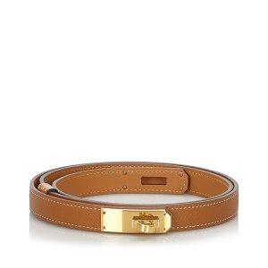 Hermes Epsom Kelly Belt