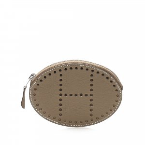 Hermes Evelyn Leather Coin Pouch