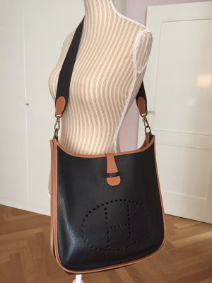 Hermès Evelyne, schwarz-braun