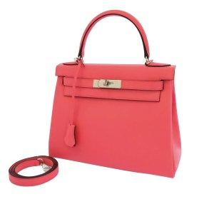 Hermès Satchel pink leather