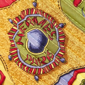 Hermes Festival Silk Scarf