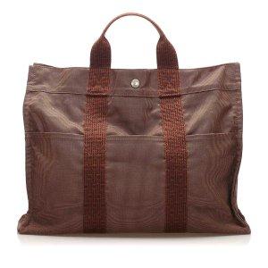 Hermès Torebka typu tote brązowy