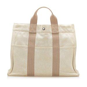 Hermès Tote white