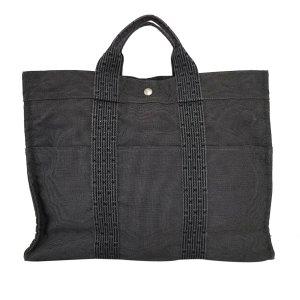 Hermès Bolso de compra negro