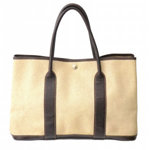 Hermès Borsa larga beige Fibra tessile