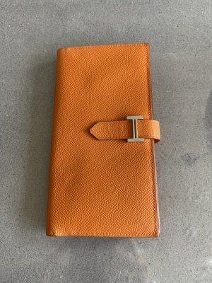 Hermès Portafogli arancione